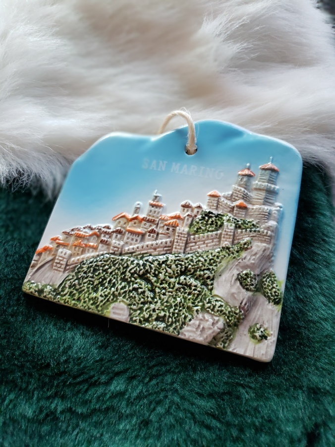 San Marino ornament