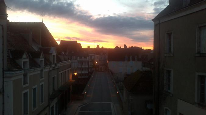 Argenton sunrise