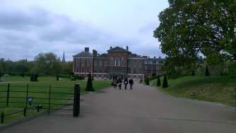 Beautiful Kennsington Palace.